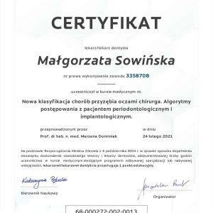 Małgorzata Sowińska - certyfikat- (10)