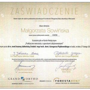 Małgorzata Sowińska - certyfikat- (3)