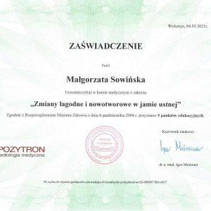 Małgorzata Sowińska - certyfikat- (6)